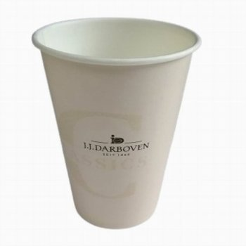 Pahare carton Darboven 8 oz - 237ml - set 50 buc
