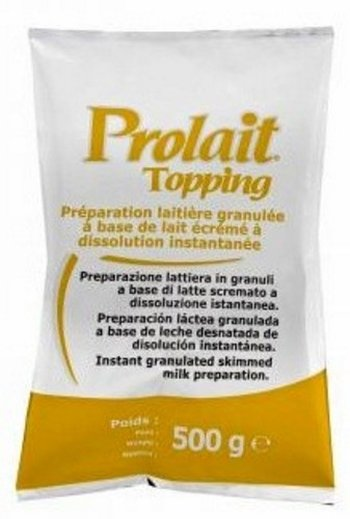 Oferta de Lapte si inalbitor cafea RES Group Topping Prolait Giallo lapte instant granulat - 500 g